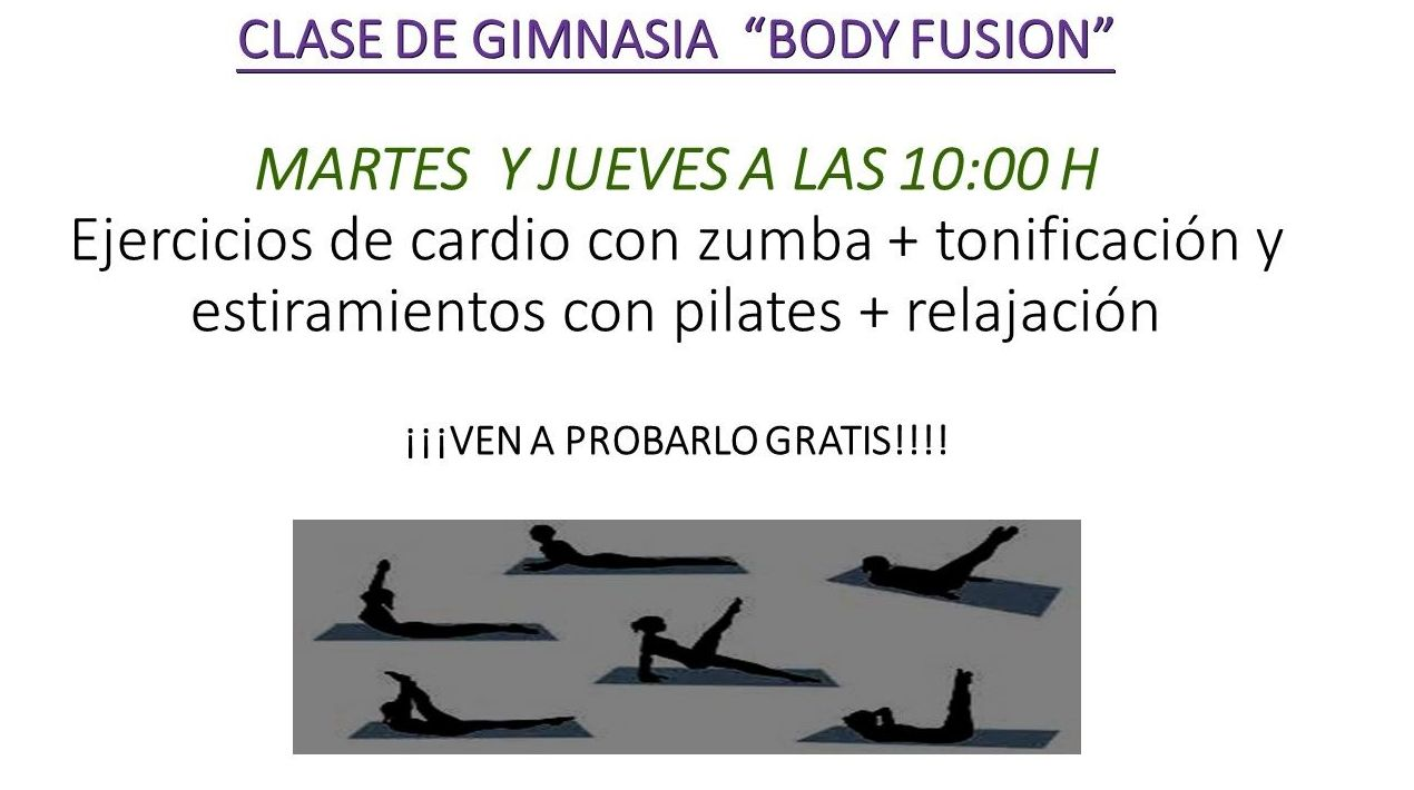 "CLASES ""BODY FUSION"""