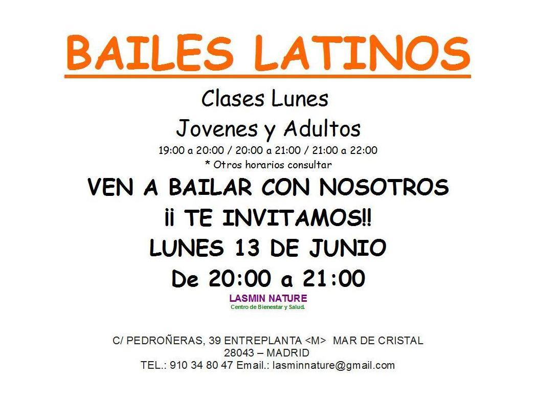 Clases de baile Latino en Madrid