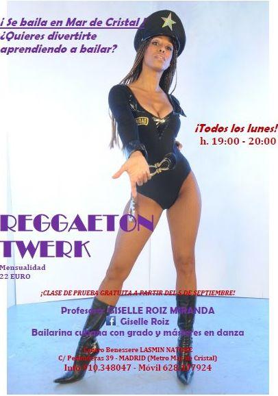 Reggaeton Twerk en Madrid