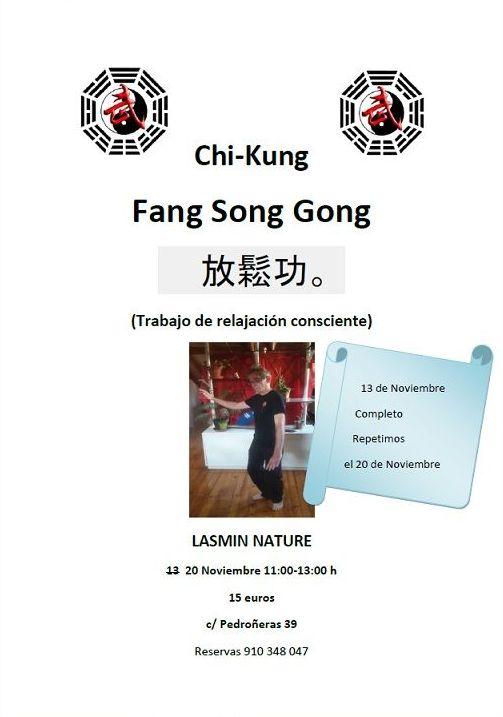 Taller Chi-Kung Fang Song Gong