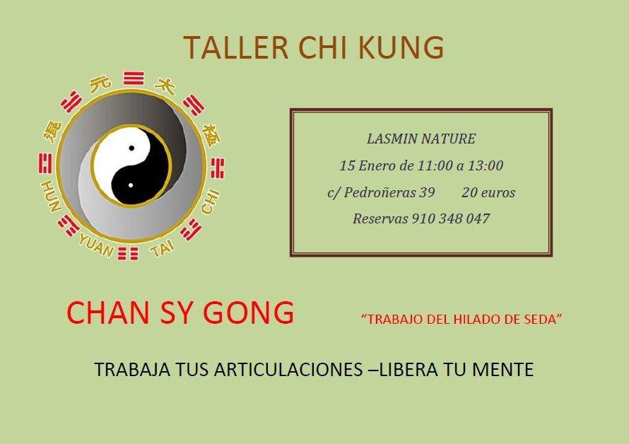 Taller Chi-Kung Chan Sy Gong