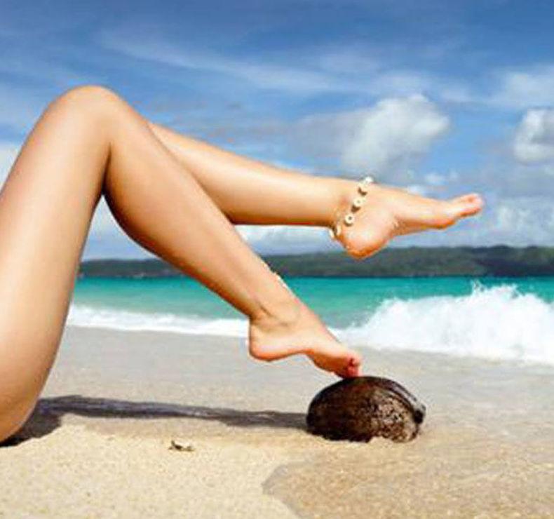 Tratamiento reafirmante de piernas