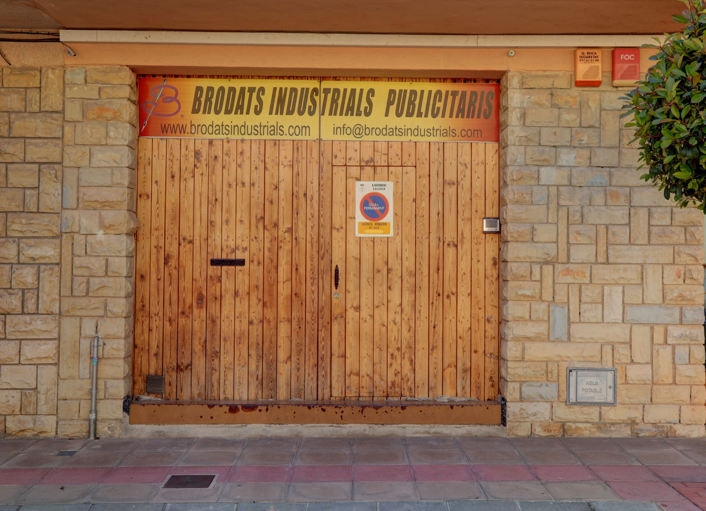 Bordados publicitarios en Alcover Tarragona