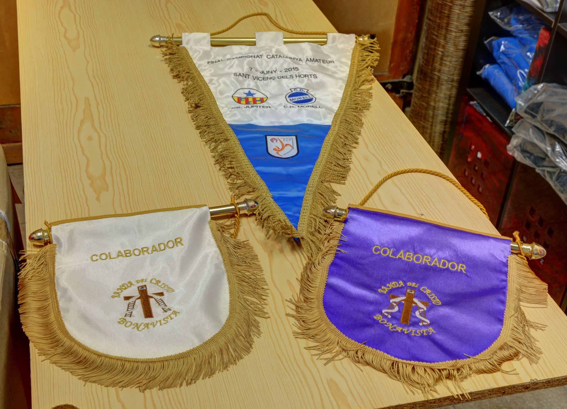 Métodos tradicionales bordado y serigrafía en Alcover Tarragona