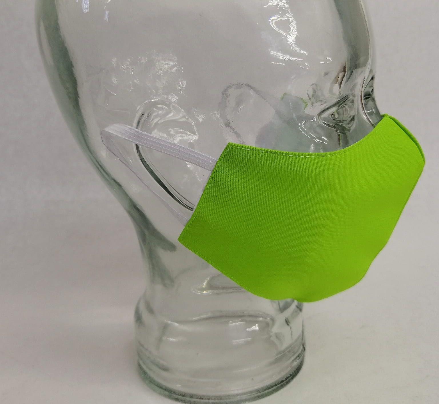 Mascarilla FFP2 Personalizada Reutilizable. Color verde Pistacho