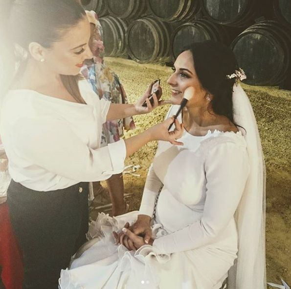 Maquillaje para cada novia en Aguilar de la Frontera