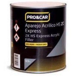 Pro&Car aparejo express 4:1 blanco 3'5 litros: Productos de Sucesor de Benigno González