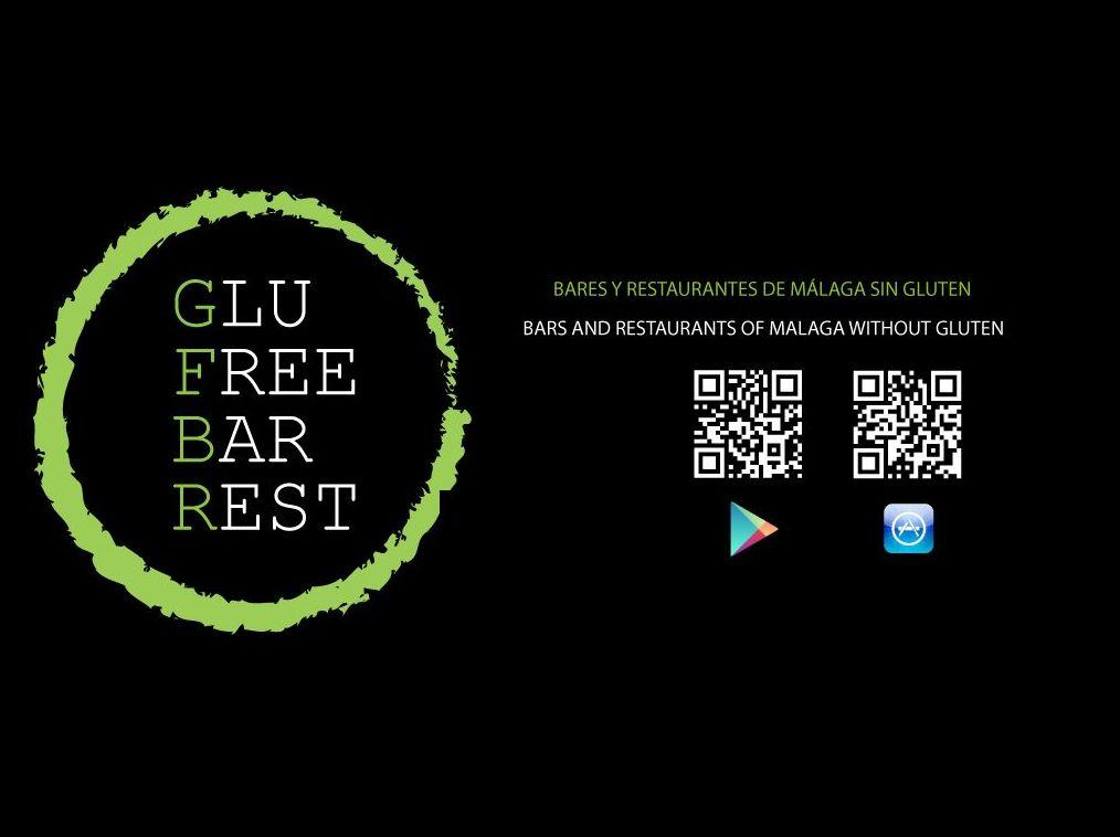 QR de las Stores para descargar la APP Glufreebarrest - Glufreebar Bares y Restaurantes Sin Gluten en Málaga