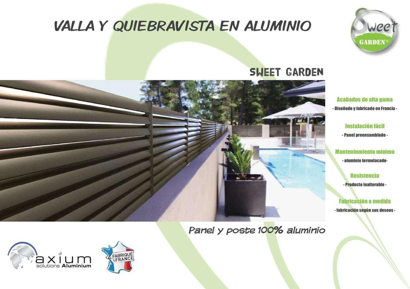 Vallas de protecci n productos y servicios de piscinas y - Vallas de proteccion ...