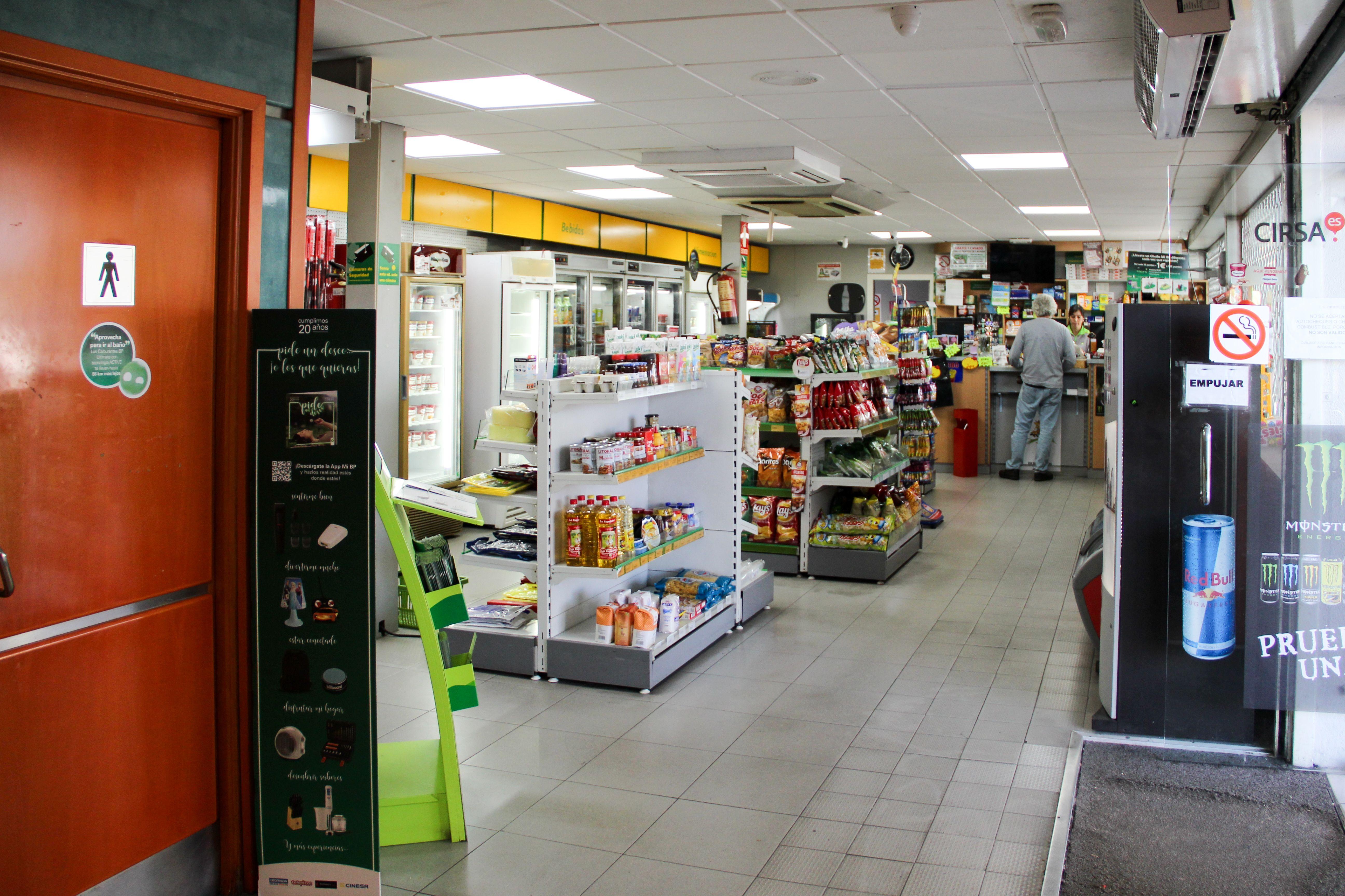 Zona Tienda Estación de Servicio Navalcarro BP