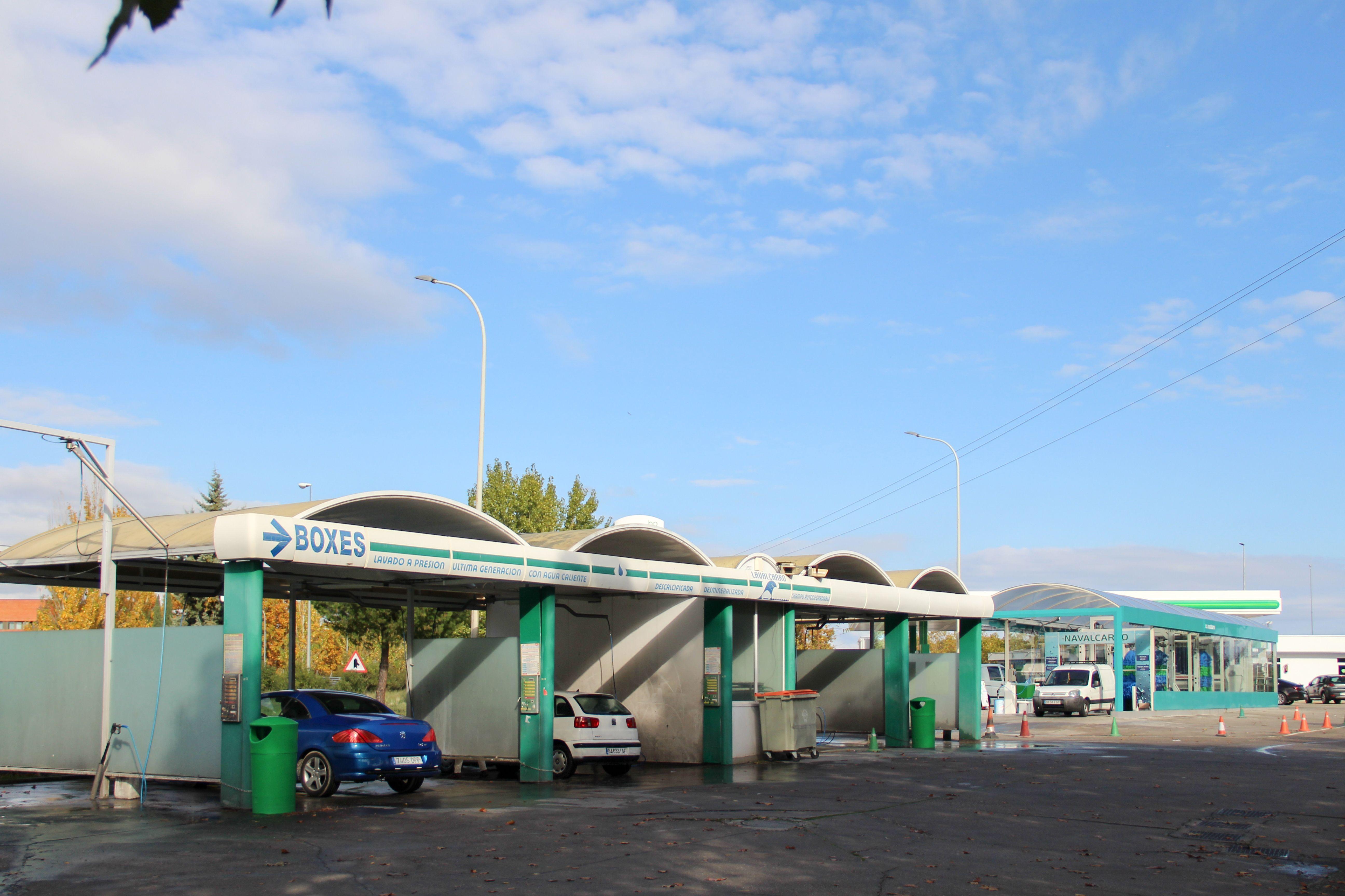 Boxes de lavado Estación de Servicio Navalcarro BP