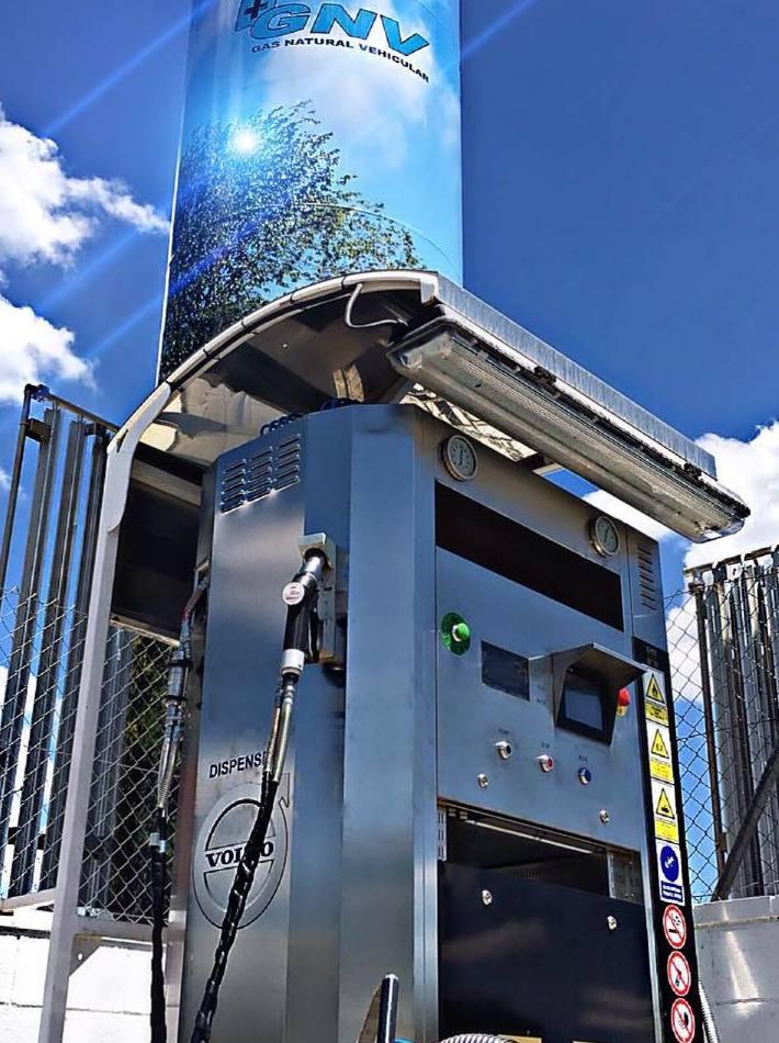 GAS NATURAL VEHICULAR: Servicios de Estación de Servicio Navalcarro BP