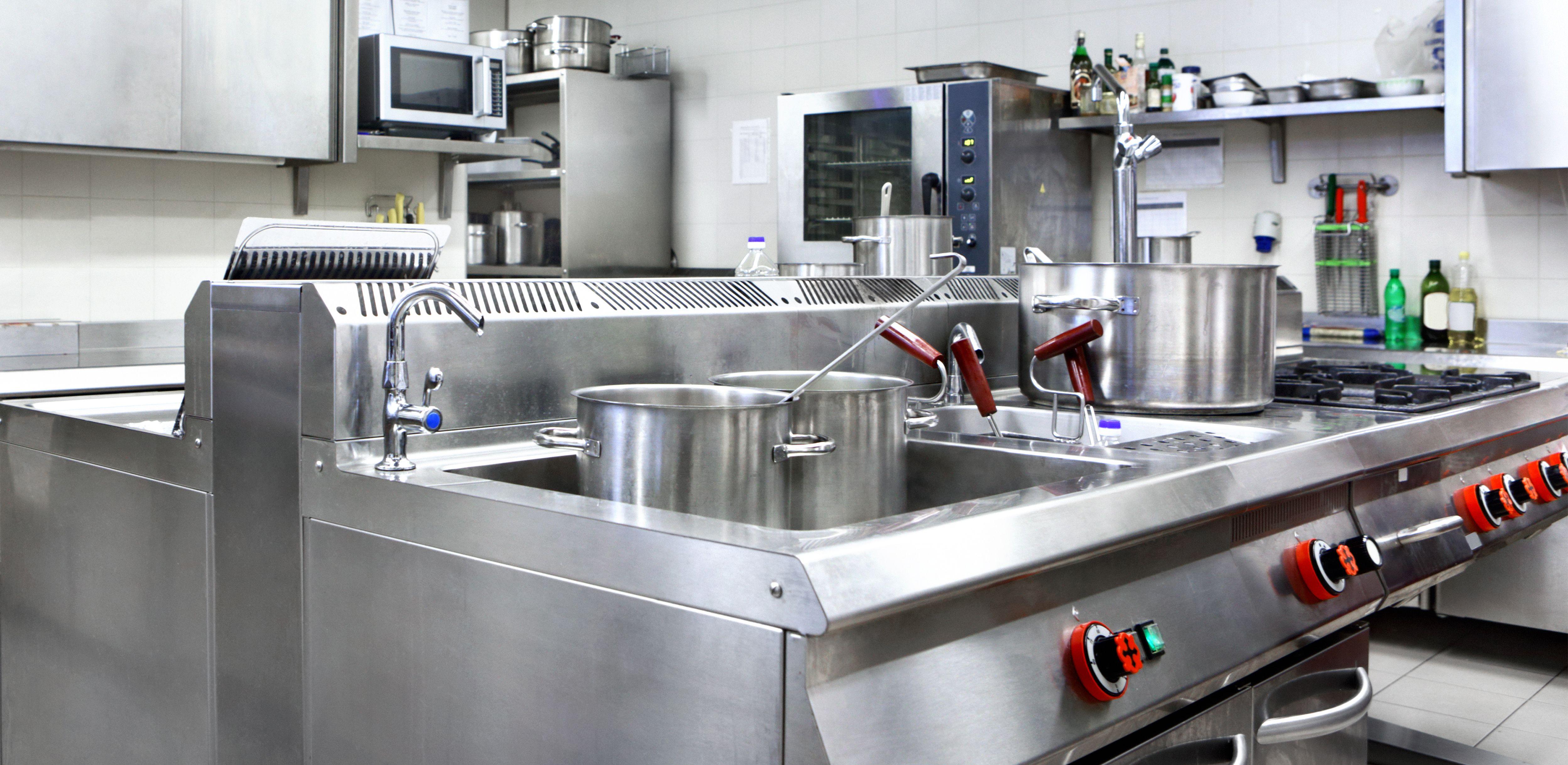 Venta e instalación de cocinas industriales