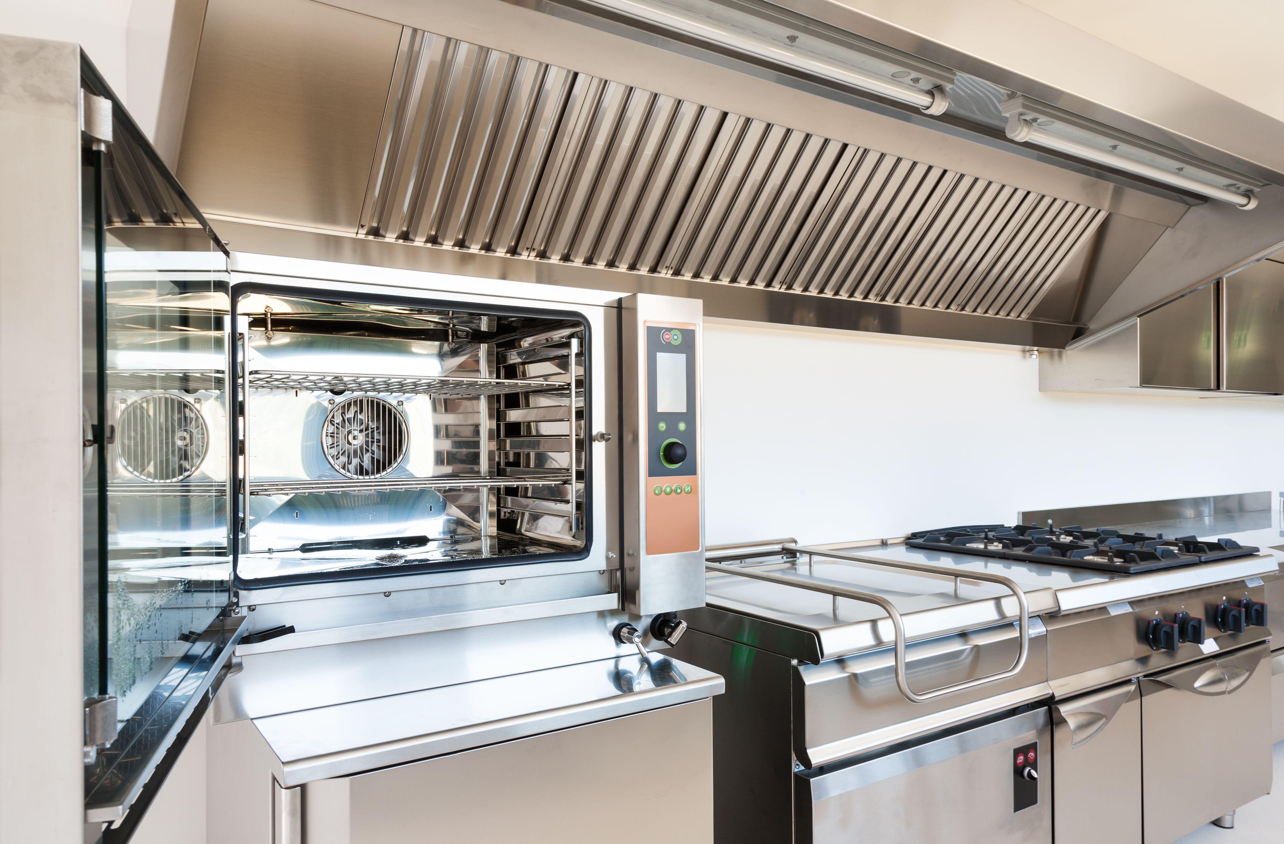 Hornos y otros electrodomésticos para restaurantes