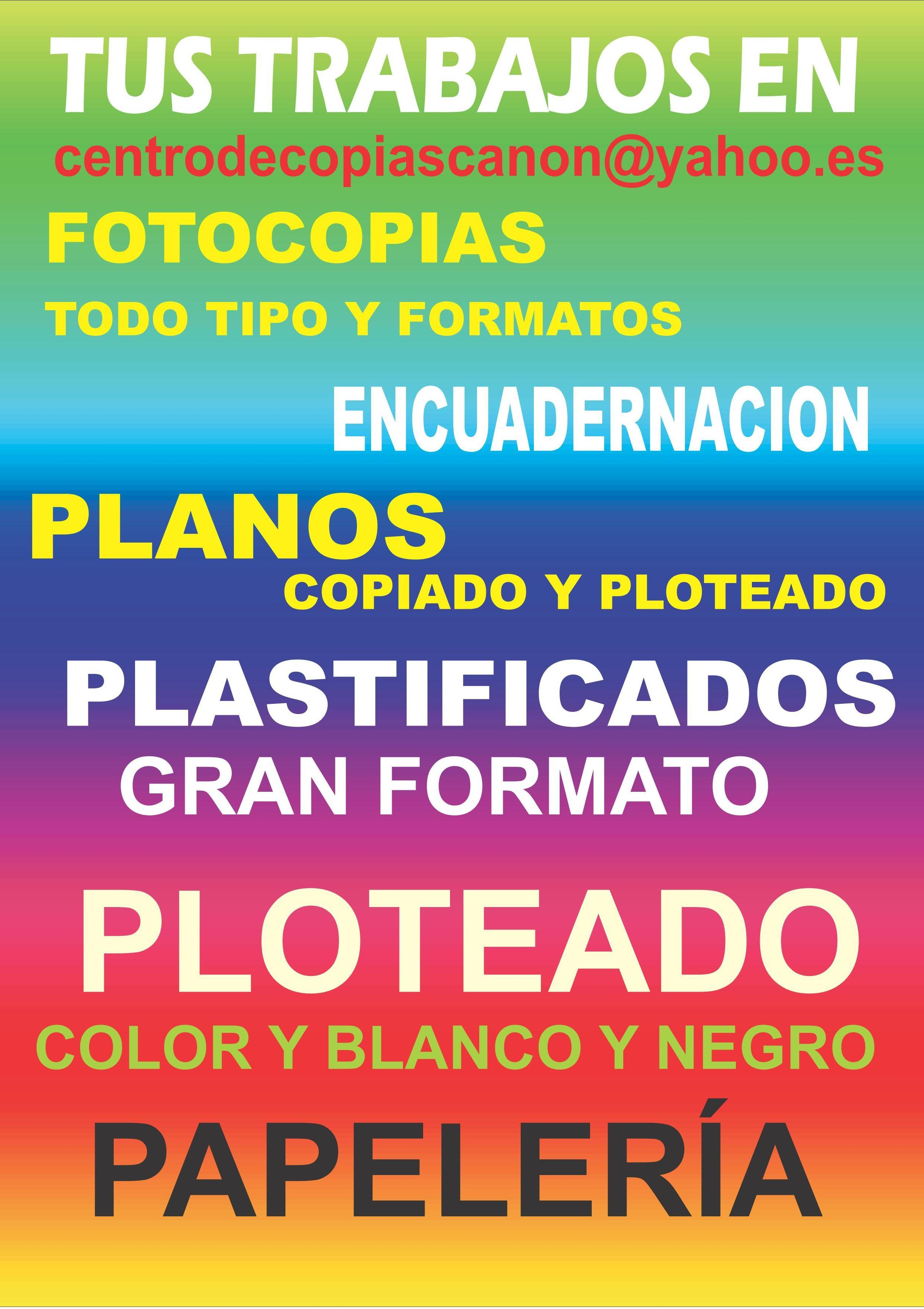 Foto 2 de Copias en Alcalá de Henares | Centro de Copias Canon