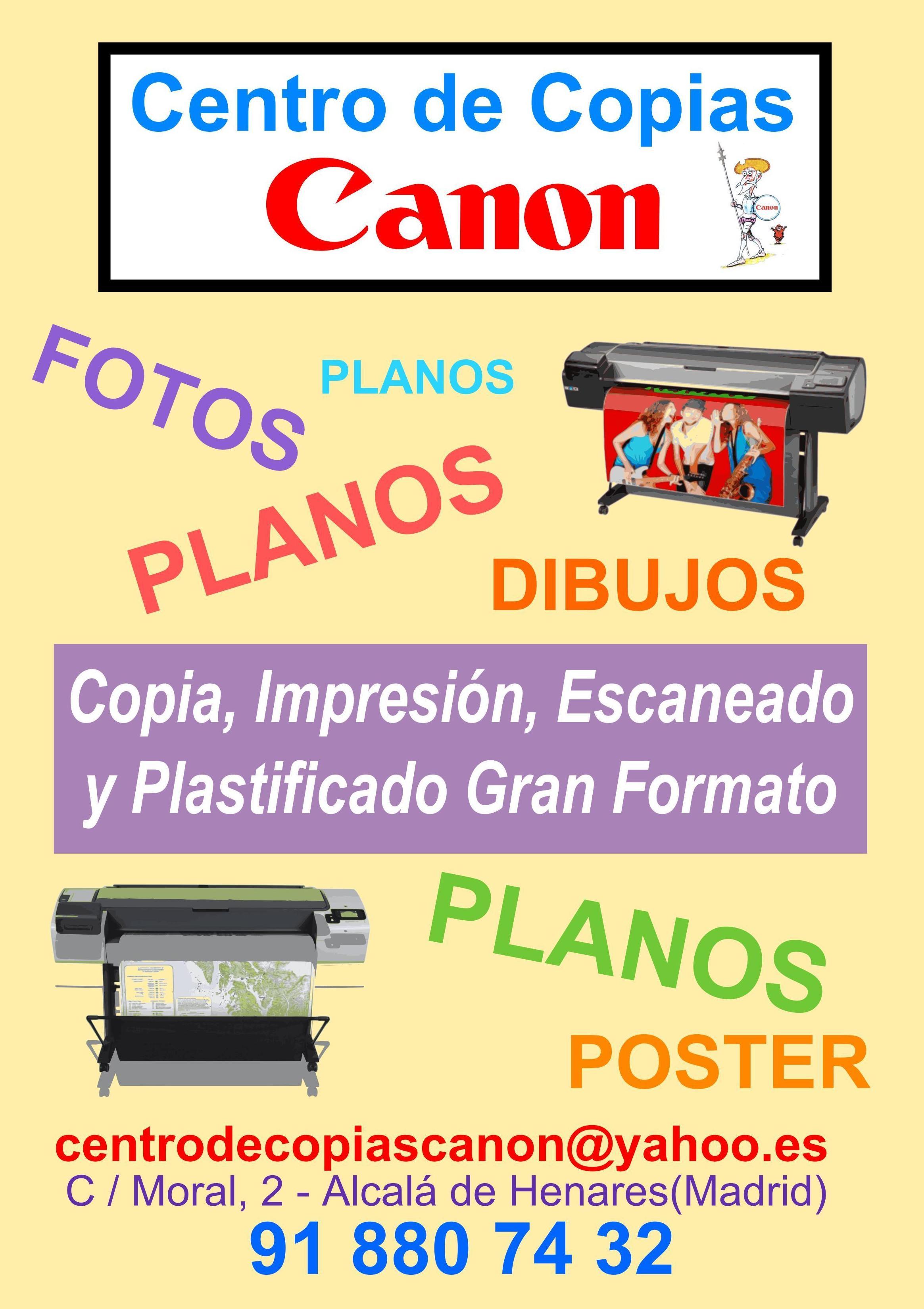 Foto 1 de Copias en Alcalá de Henares | Centro de Copias Canon