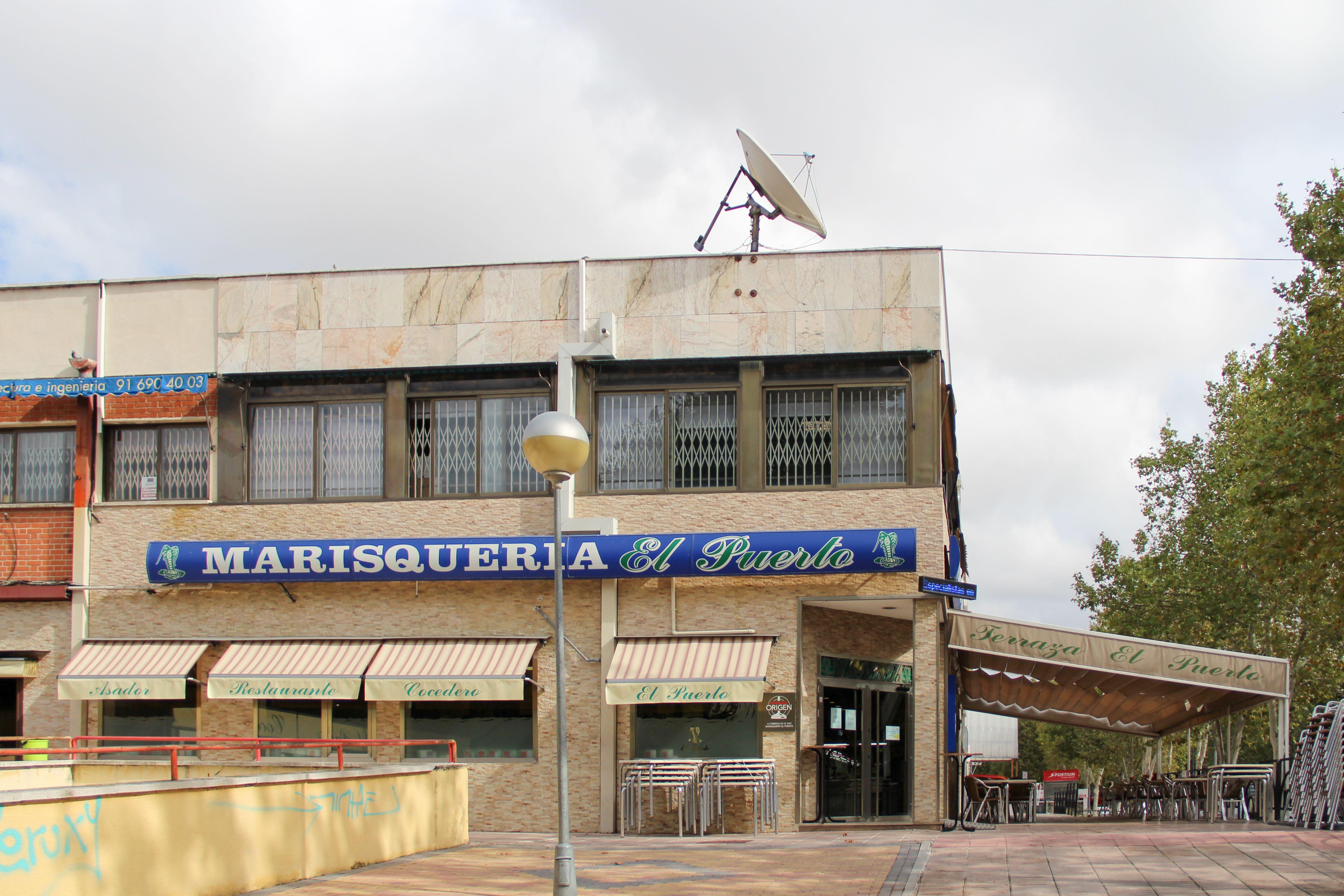 Exteriores Restaurante El Puerto