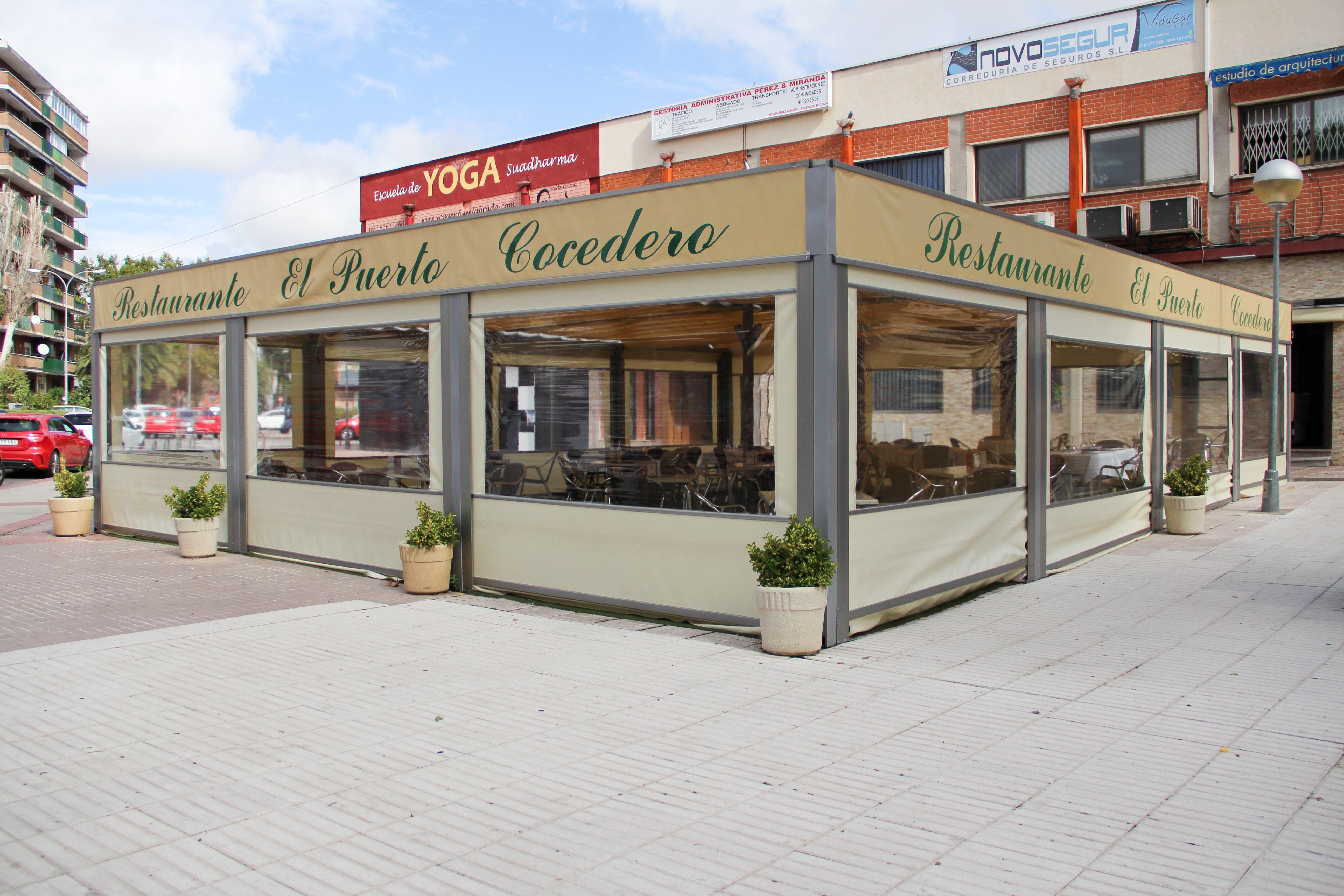 Exterior terraza Restaurante El Puerto