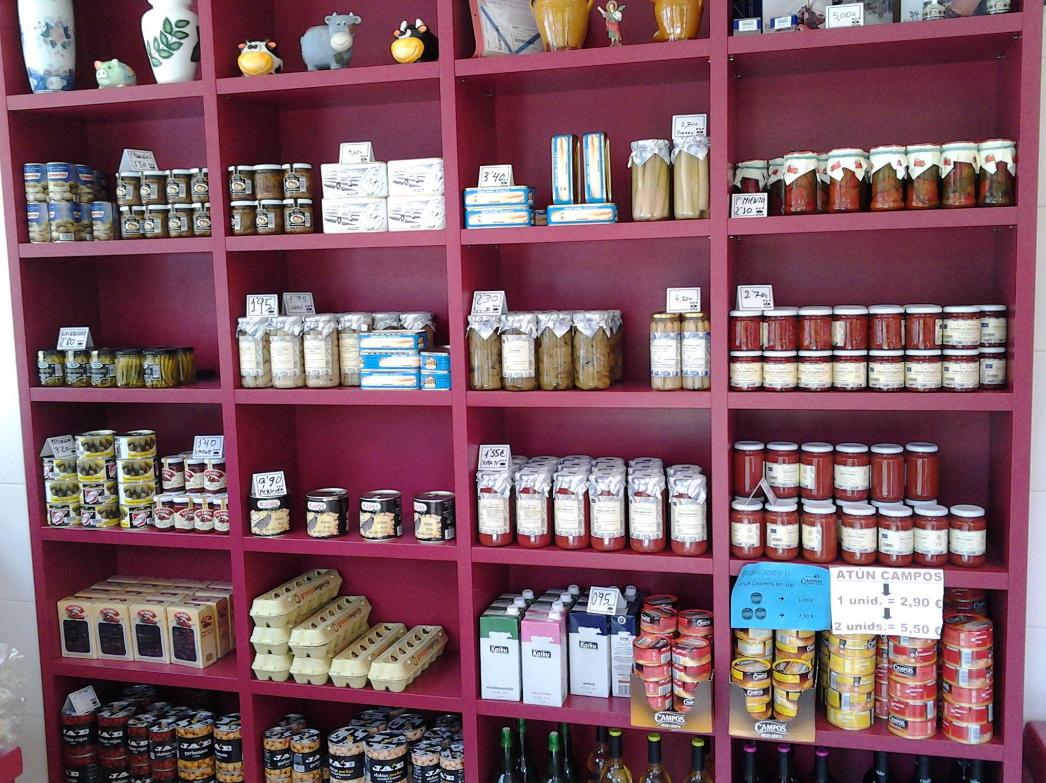Venta de productos artesanos