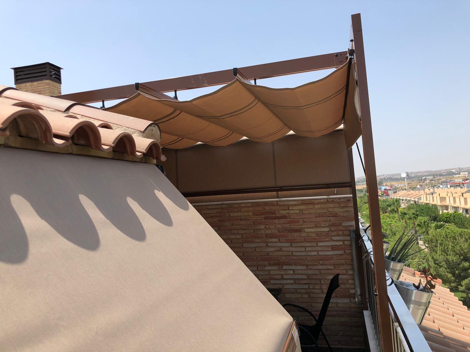 Pergolas con techo movible