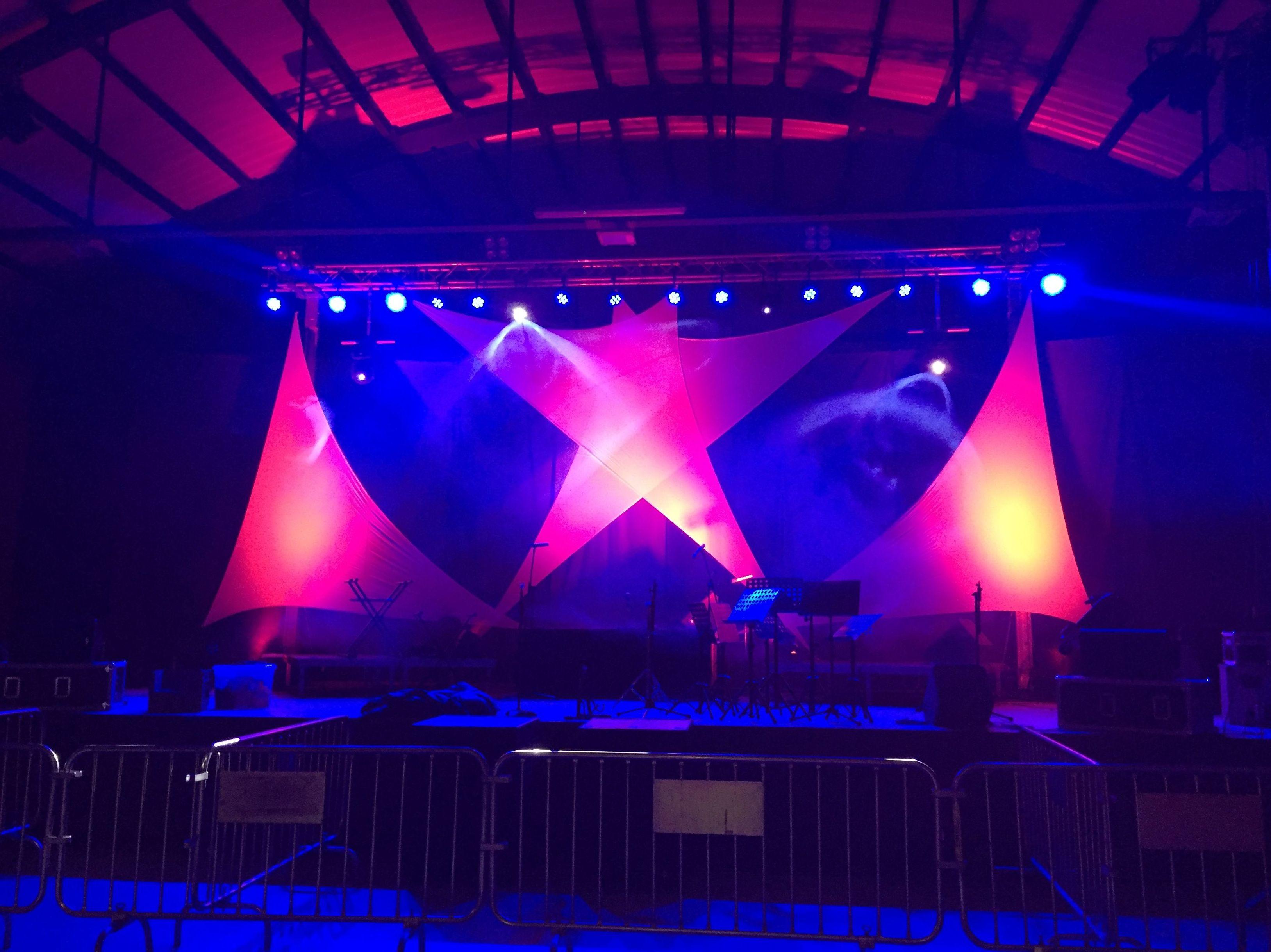 Il.luminación para eventos y conciertos