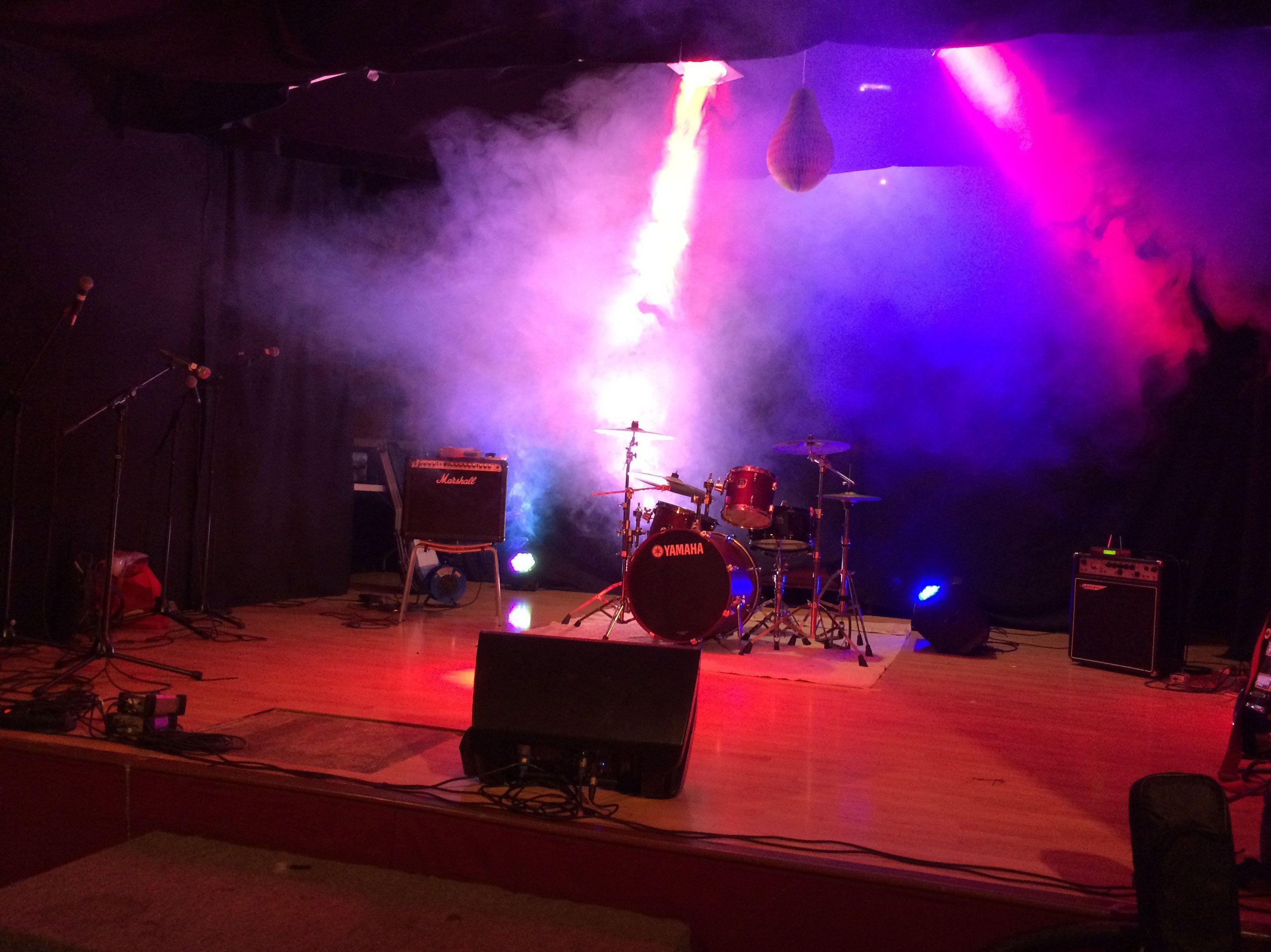 Luces y sonido para conciertos