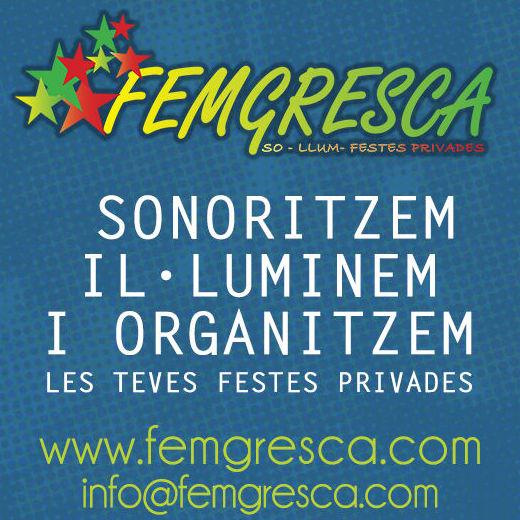 Foto 26 de Organización de eventos  en Sant Cugat del Vallès | Femgresca