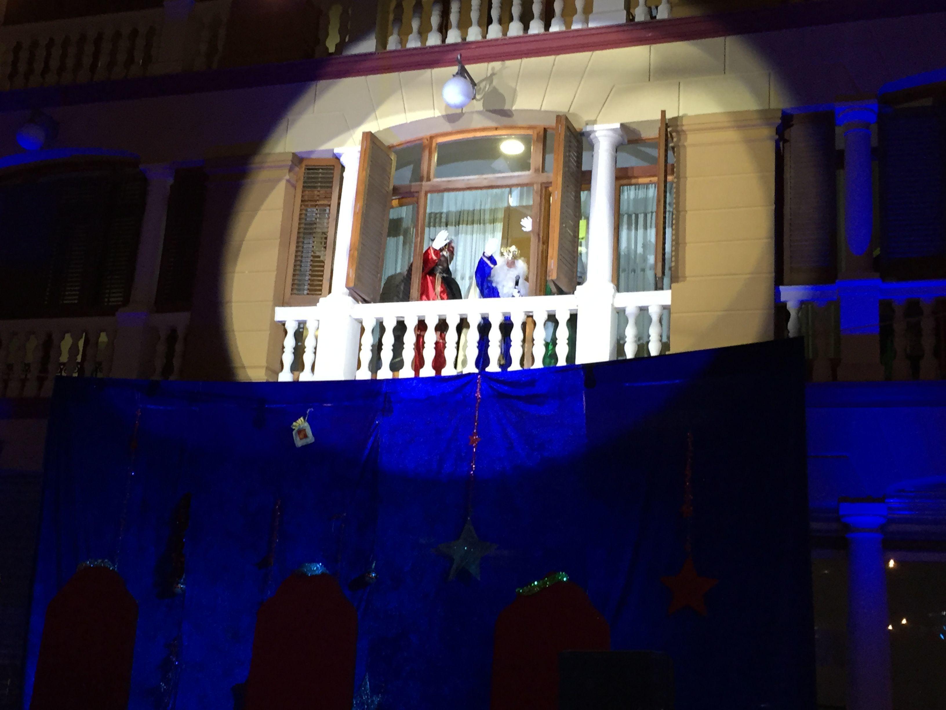 Sonorización y iluminación recepción Reyes Magos de Oriente (La Floresta)
