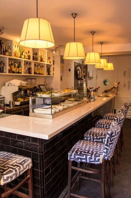 Restaurante de cocina gallega en el  barrio de Sants - Montjuïc en Barcelona