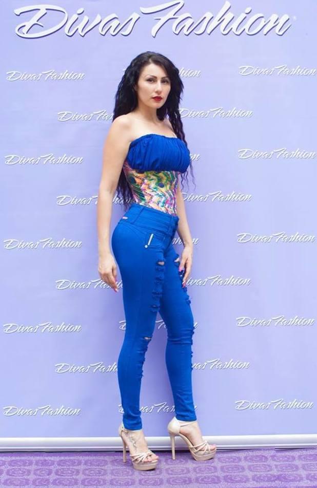 Conjunto azul sensual para mujeres atrevidas