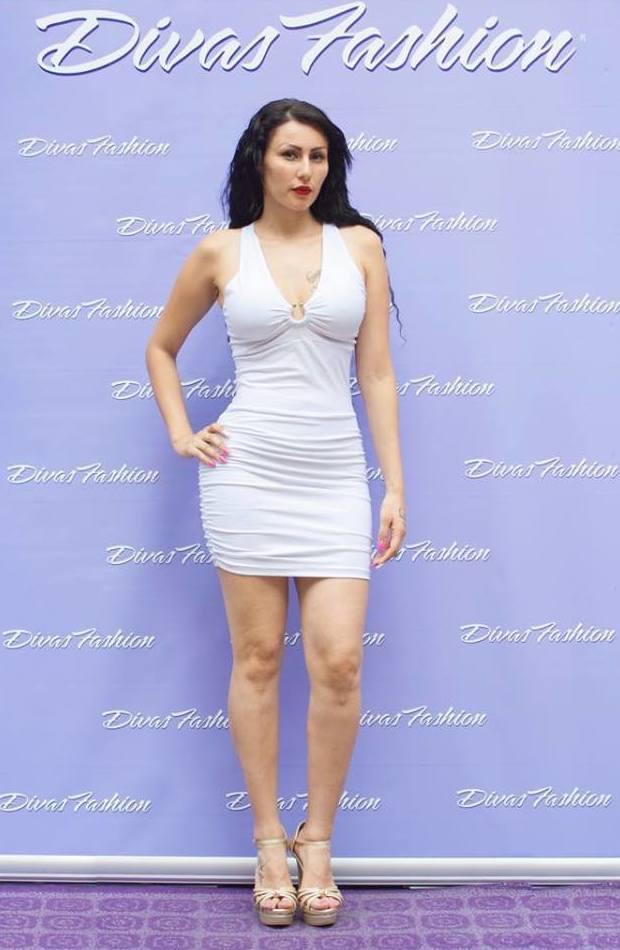 Vestido blanco drapeado