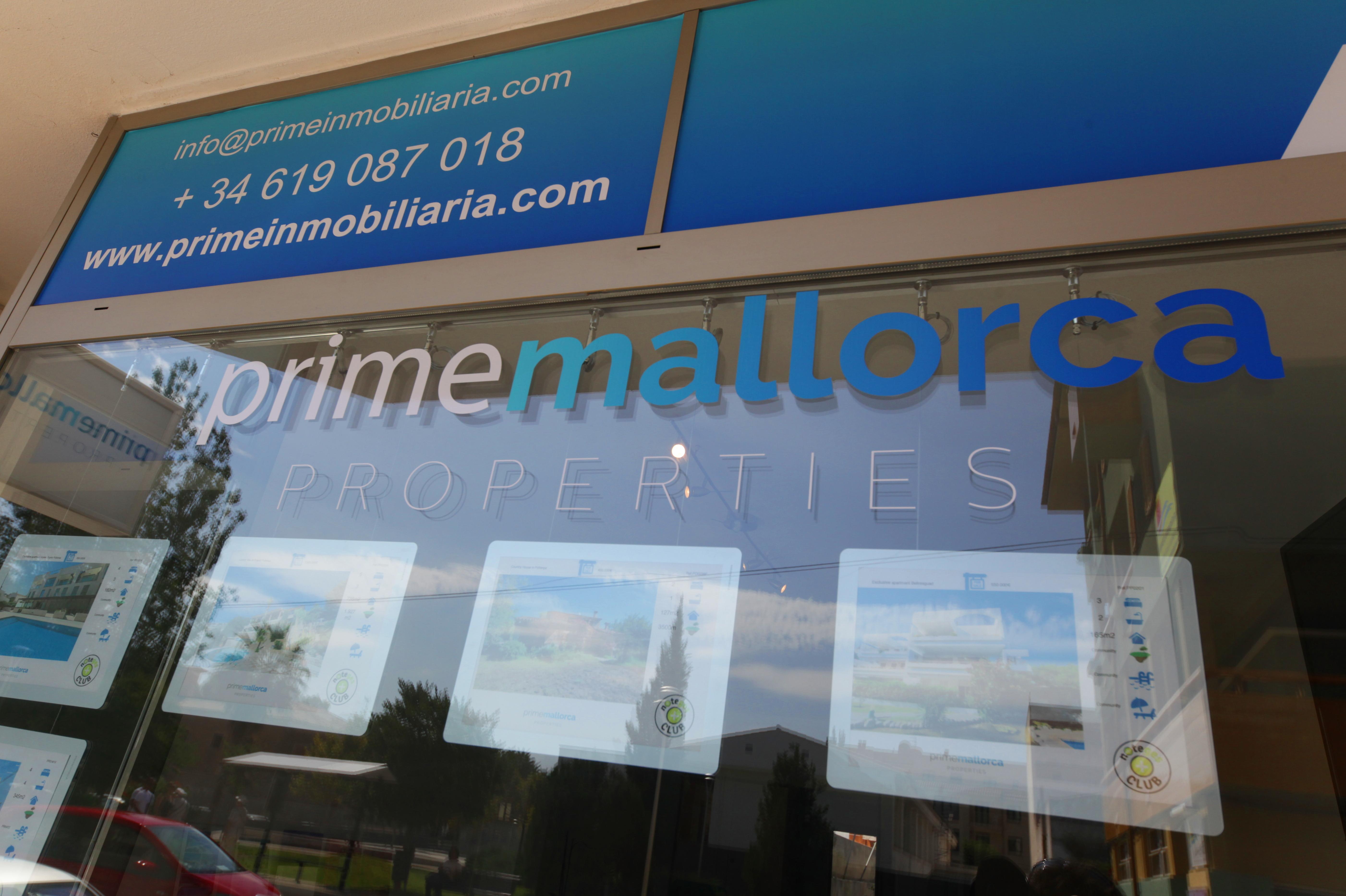 Escaparate Prime Mallorca Properties