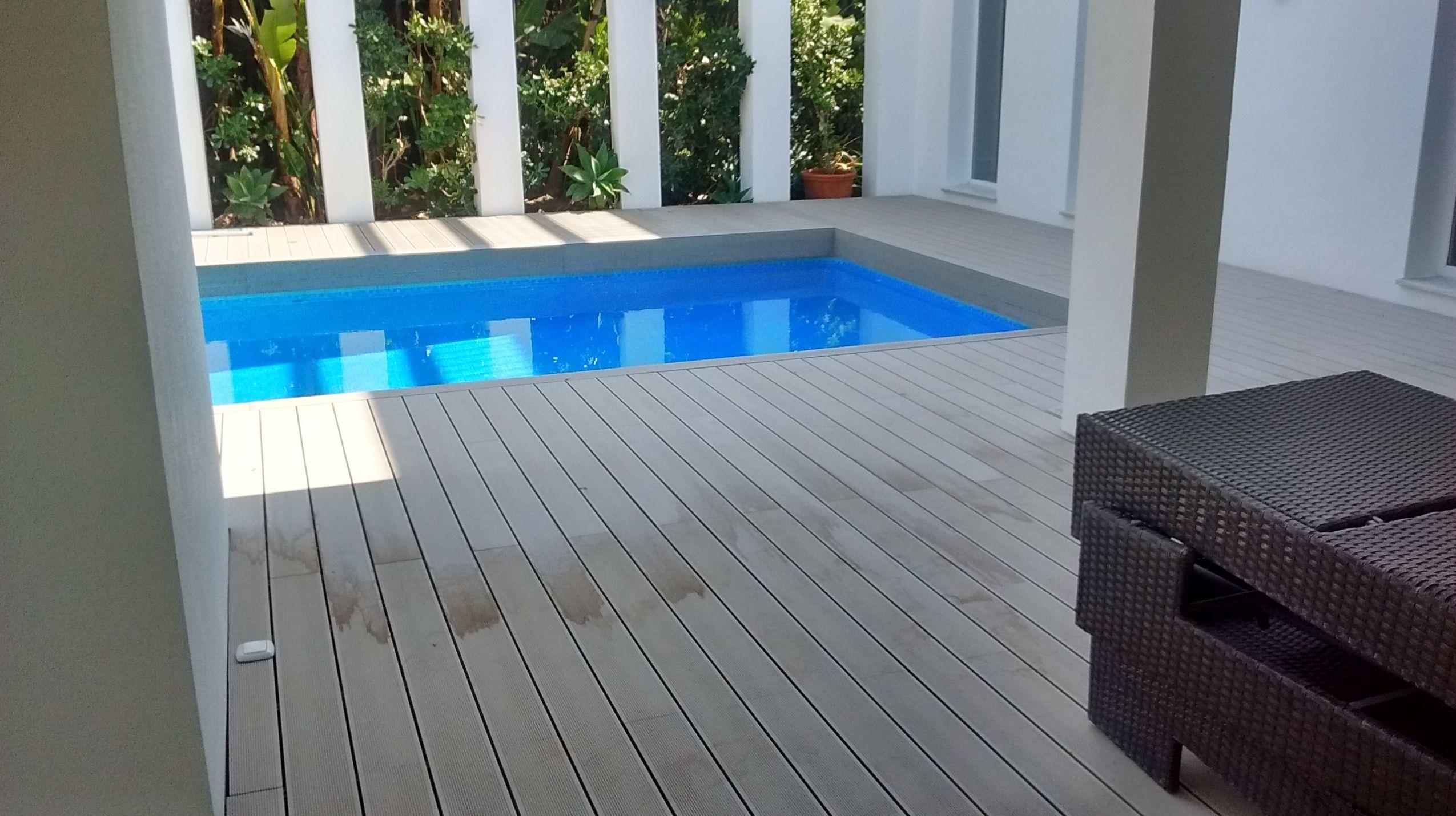 Montaje de parquet para exteriores en Málaga