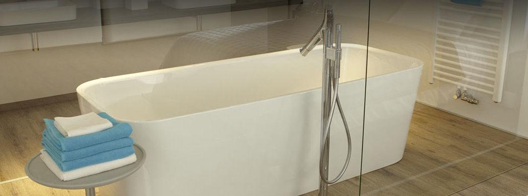 Imagen de Instalación de un suelo laminado egger aqua+  instalado en un baño. Instalador de Pavimentos,Tarimas y Suelos Laminados en Marbella