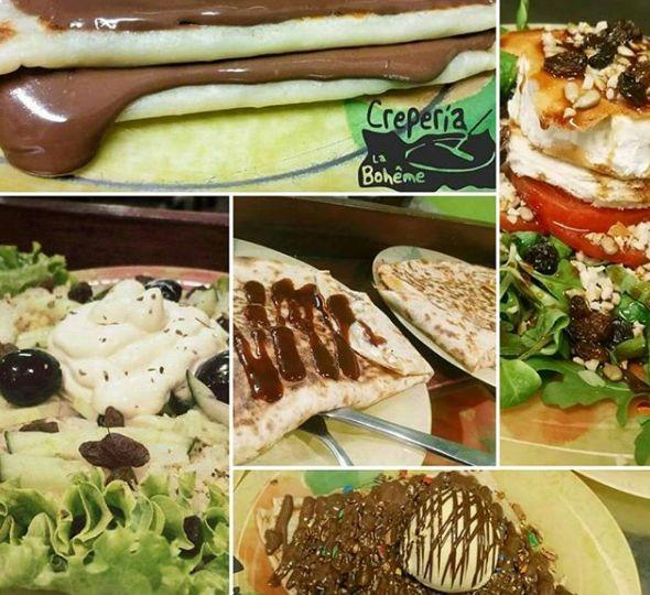 Las crepes y las ensaladas son nuestra razón de ser