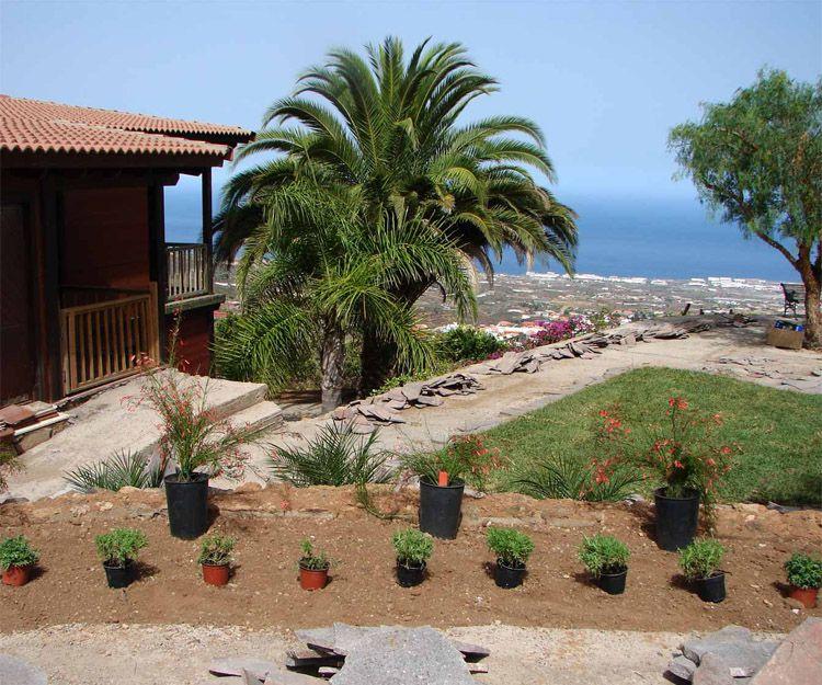 Transformación de jardines en Santa Cruz de Tenerife