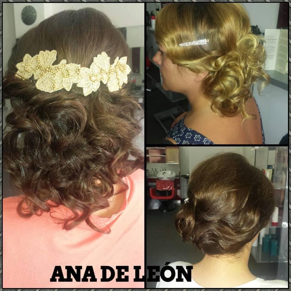 Peinados de fiesta en Ana de León