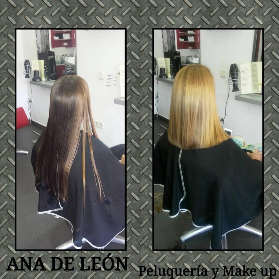 Cambios de look en Ana de León, Toledo