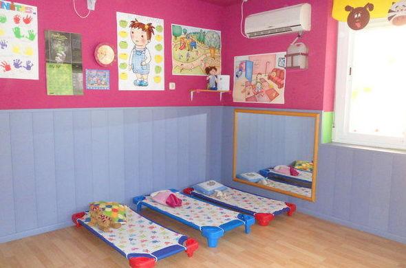 Área de descanso: Servicios de Escuela Infantil Pequesol