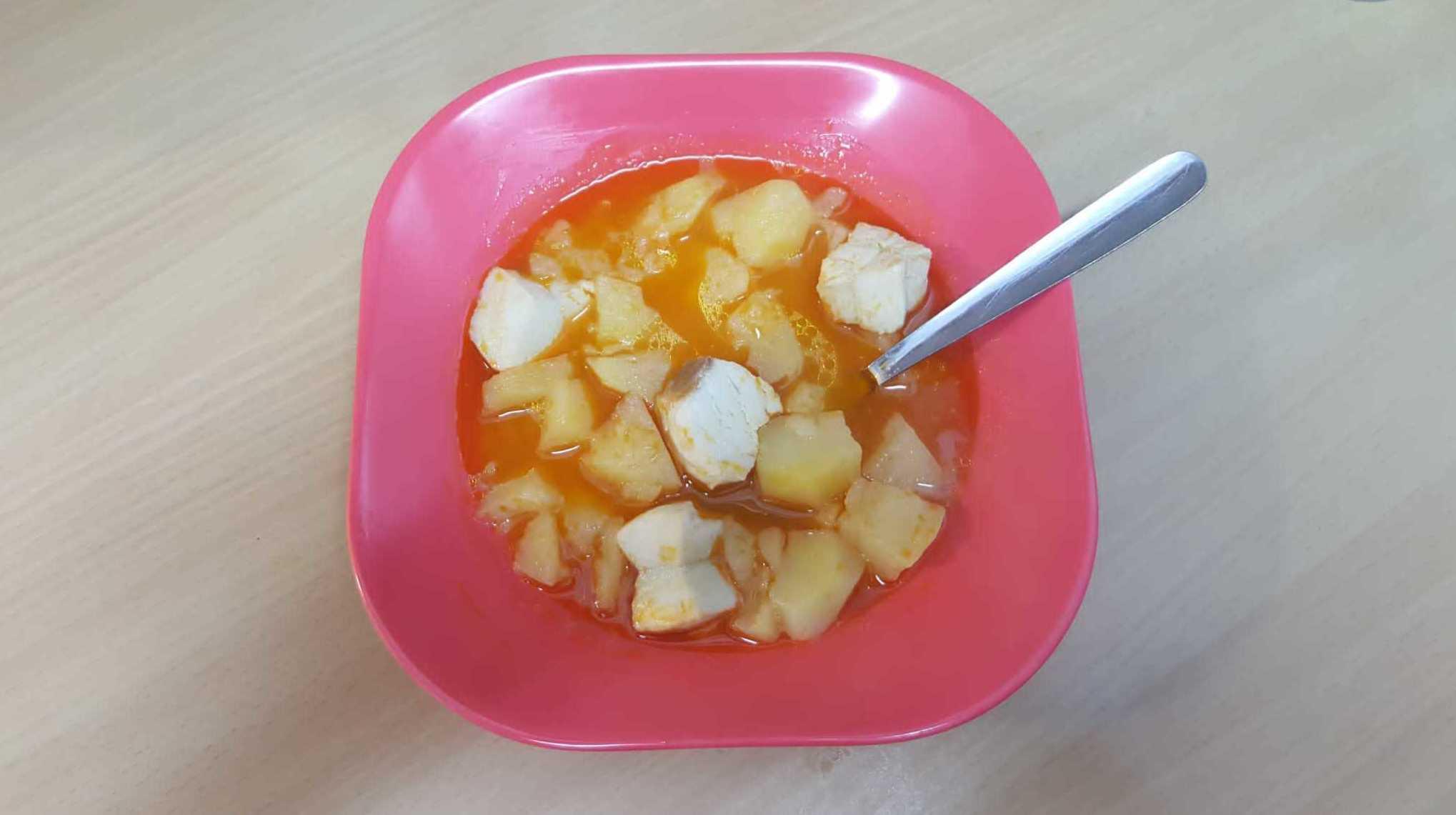 escuela infantil comida casera