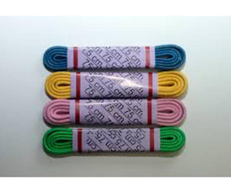 Cordones de colores en Alcobendas
