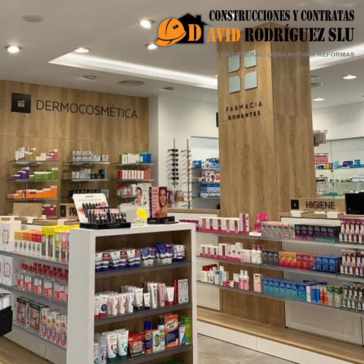 Foto 2 de Reformas integrales para empresas y particulares en Alagón | Construcciones David Rodríguez