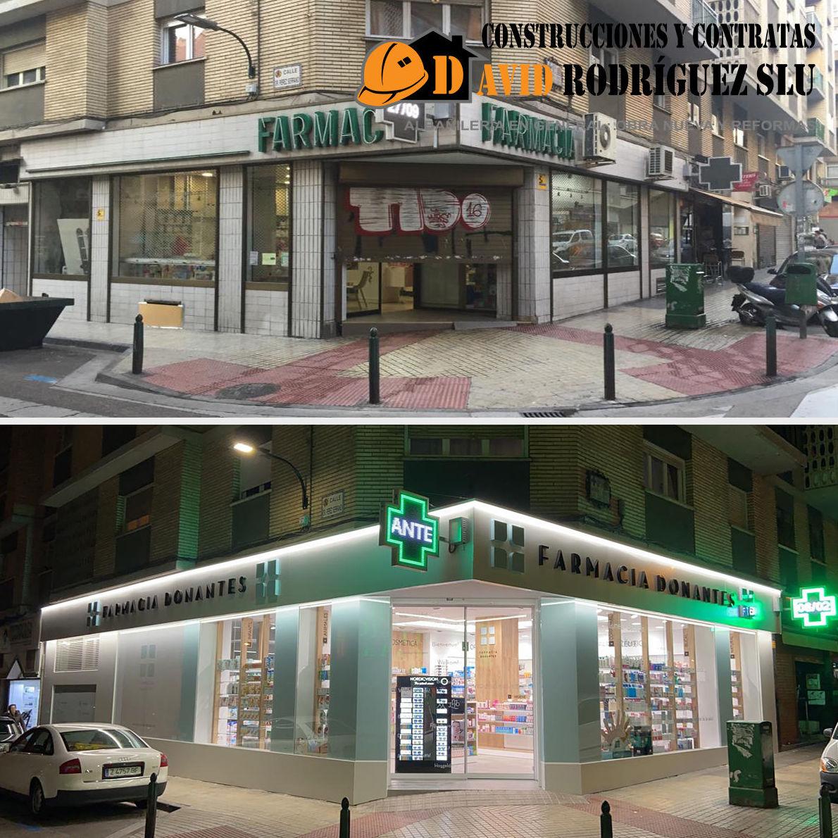 Foto 1 de Reformas integrales para empresas y particulares en Alagón | Construcciones David Rodríguez
