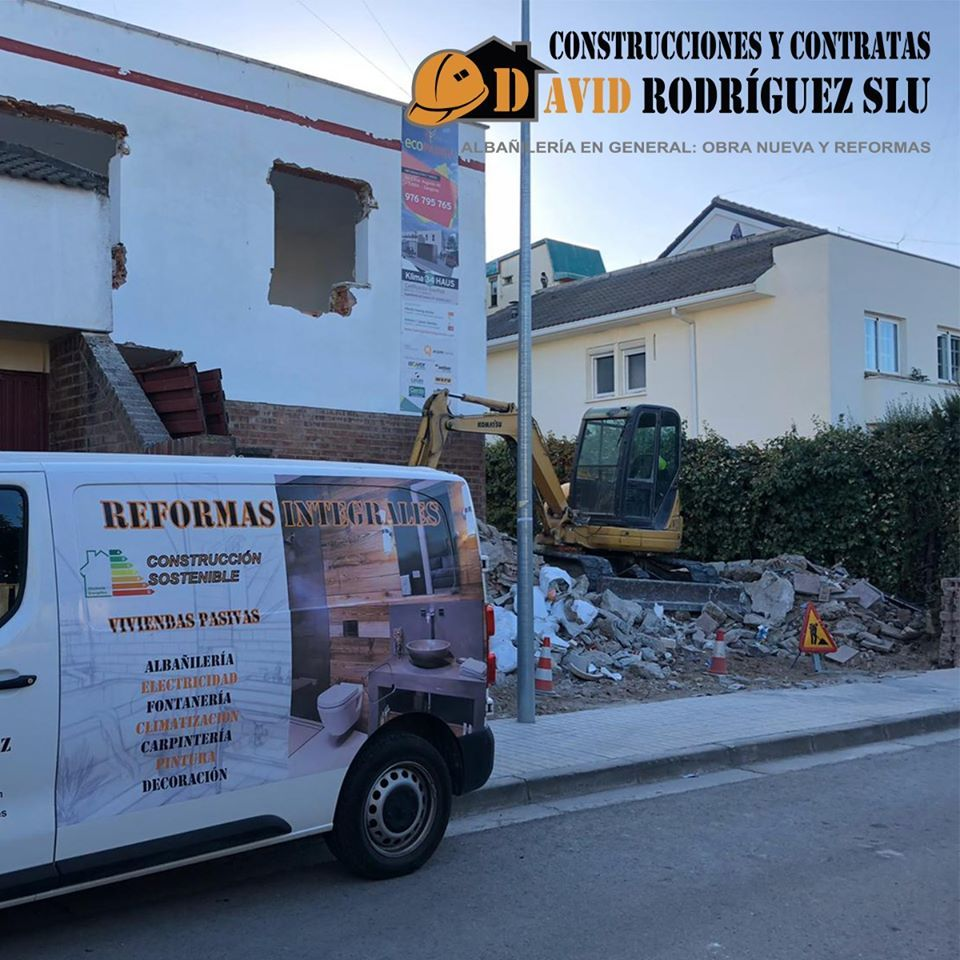 Foto 4 de Reformas integrales para empresas y particulares en Alagón | Construcciones David Rodríguez