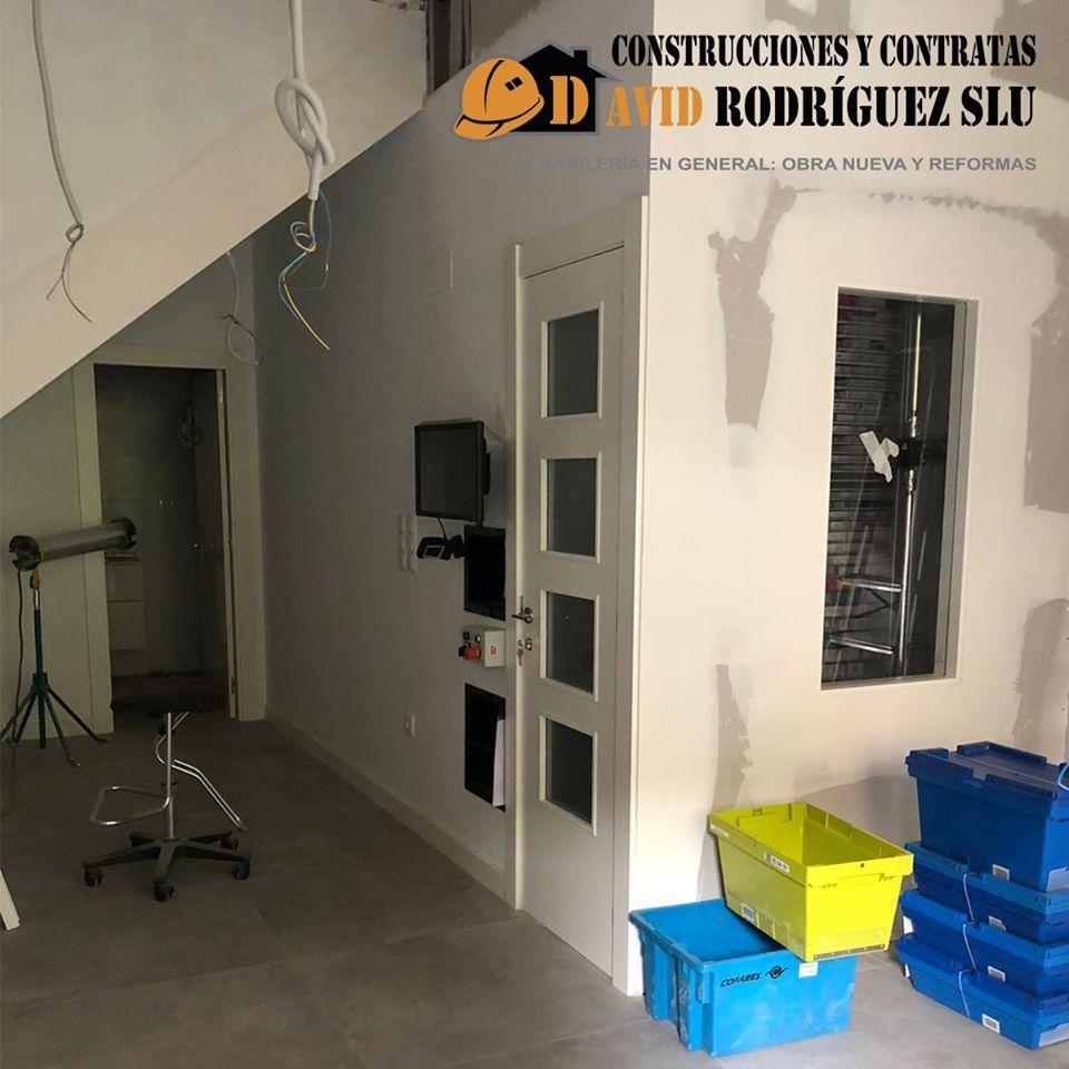 Foto 24 de Reformas integrales para empresas y particulares en Alagón | Construcciones David Rodríguez
