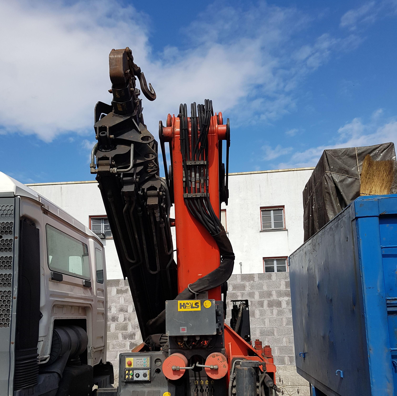 Transportista de residuos nos peligrosos en Bizkaia