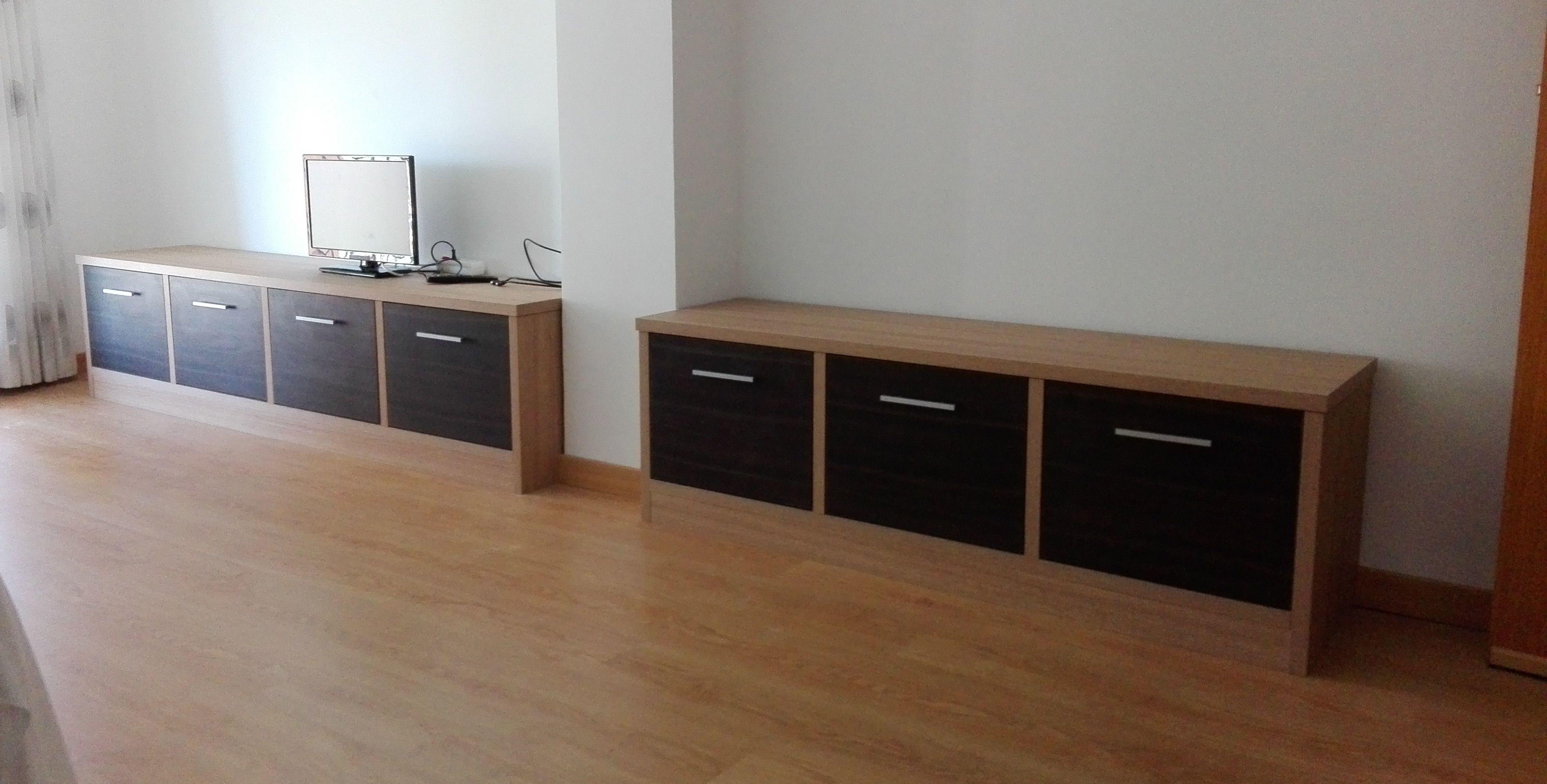 Foto 168 de armarios en la boutique del armario for Muebles bajos para salon