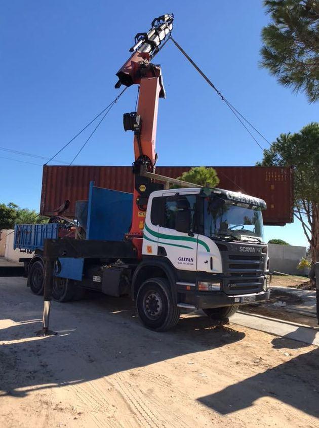 Foto 9 de Transporte de mercancías en Chiclana de la Frontera | Transportes y Grúas Galván - Alquileres Galván