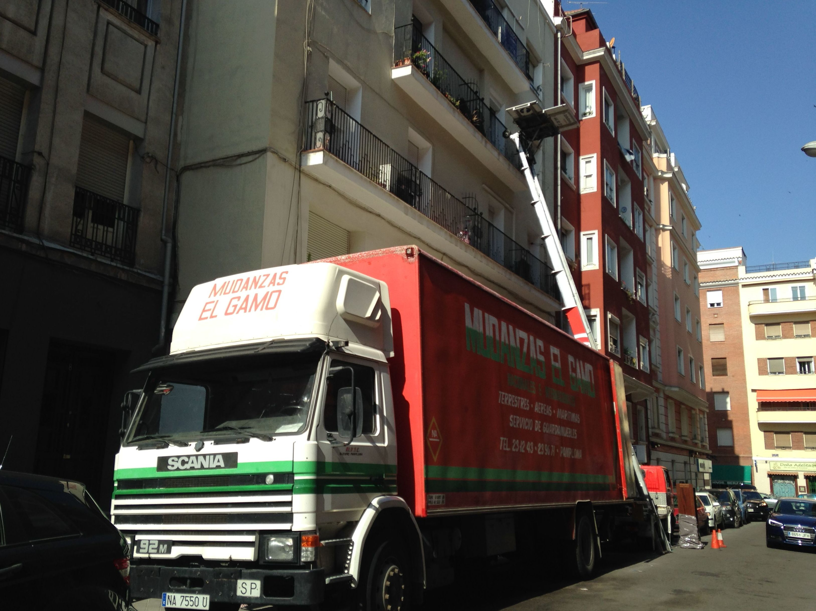 Mudanzas Gamo en Madrid.