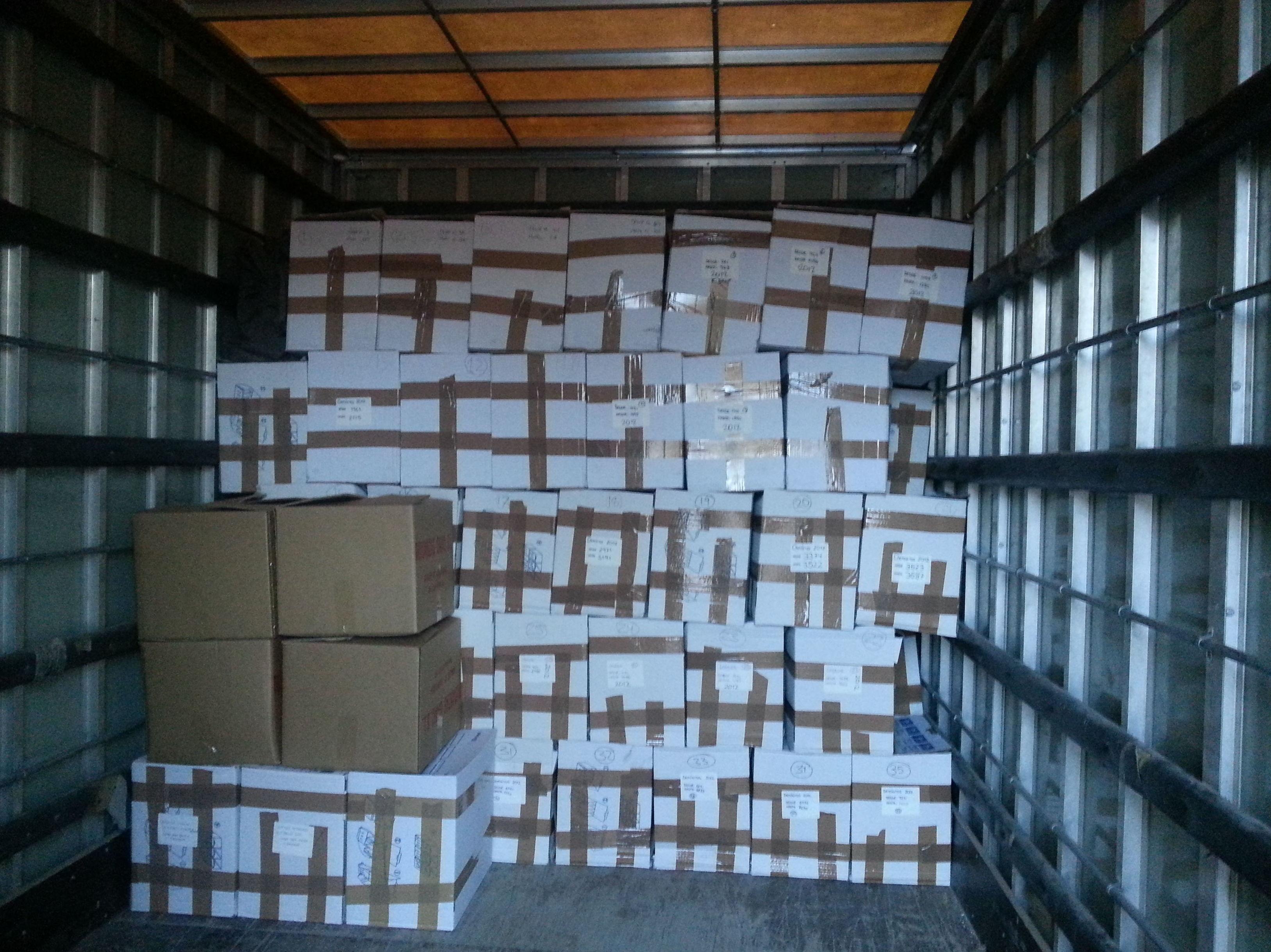 Mudanzas Gamo: Traslado de documentación en Pamplona, Iruña